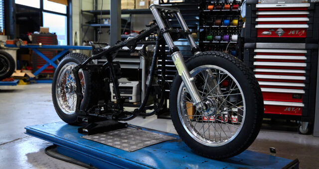 First update of the Harley-Davidson custom project