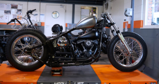 Second Update: First fitment check on the Harley-Davidson custom project
